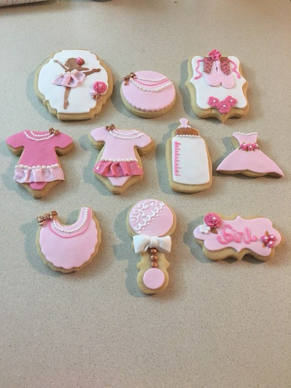 Ballerina Baby Shower Decorated Cookies For Sale In Miami Fl Offerup