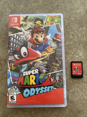Super Mario Odyssey for Switch for Sale in Olympia, WA