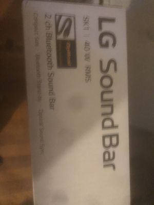 LG soundbar for Sale in Mill Hall, PA