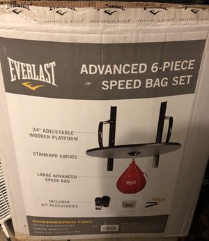 Everlast Advanced 6-Piece Speed Bag Set for Sale in Orland Hills, IL