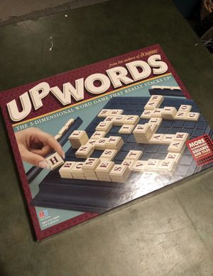 Upwords Scrabble Board Game for Sale in Philadelphia, PA