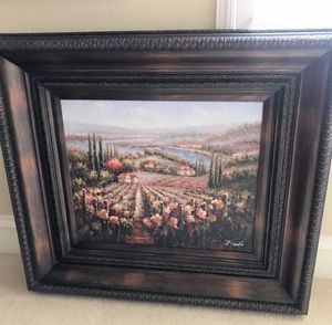 Gorgeous Tuscany Fine Art Oil Painting for Sale in Frisco, TX