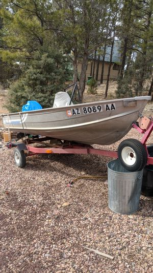 """12"""" aluminum sea nyph fishing boat for Sale in Show Low, AZ"""
