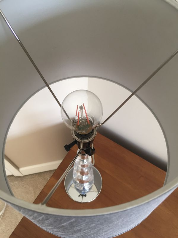 Modern Grey Lamp