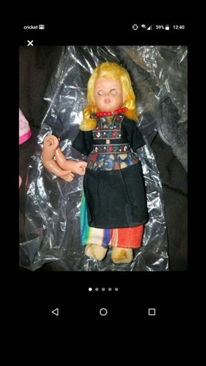 Antique Dutch Wooden Shoe Doll for Sale in Bountiful, UT