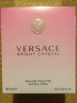 VERSACE BRIGHT CRYSTAL FOR LADIES EDT SIZE 3.0oz for Sale in NJ, US