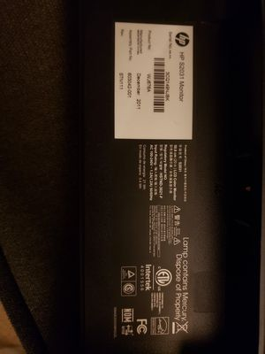 HP computer monitor for Sale in Greenville, SC