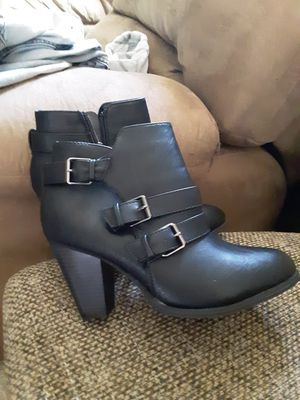 Forever black boots size 7 for Sale in Price, UT
