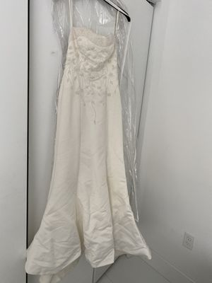 Vintage Gorgeous Strapless Mermaid Ivory Wedding Dress for Sale in Pompano Beach, FL