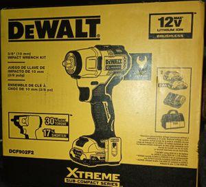 Dewalt 3/8 Impact Wrench Kit and Kobalt Ratchet set for Sale in San Diego, CA