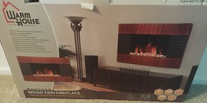 Wall mounted electric fireplace for Sale in Peoria, IL