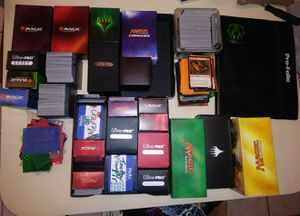 Huge magic the gathering collection for Sale in Pompano Beach, FL
