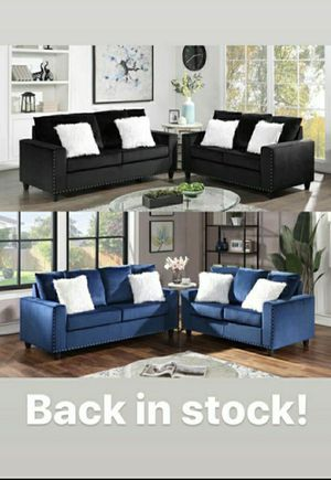 Sofa and loveseat 👩🏫👩🏫 $49 down don't miss deal for Sale in Houston, TX