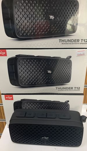 Thunder T12 Bluetooth rugged speaker! for Sale in Victoria, TX