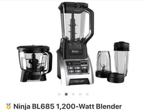 ninja blender used 2 times only for Sale in Sanger, CA