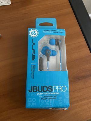 JLab Audio JBuds Pro Premium in-Ear Earbuds with Mic,Smart Assist Android/Apple for Sale in San Diego, CA