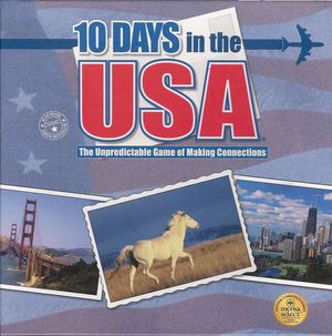 10 Days in the USA - board game for Sale in Upper Gwynedd, PA