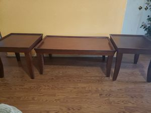 Coffee Table & 2 Side Tables for Sale in Houston, TX