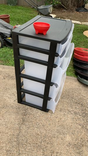 Plastic Drawer Stack for Sale in Cypress, TX