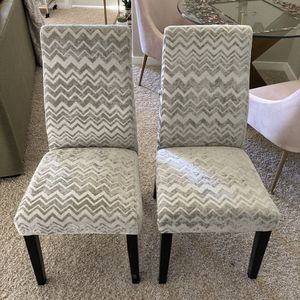 Dining chairs for sale (two) for Sale in Wilsonville, OR