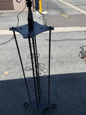 Wrought iron multi purpose stand for Sale in Hemet, CA