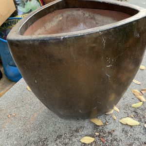 """Copper Bronze Planting Pot 14"""" Tall for Sale in Glendale, CA"""
