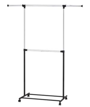 2 Tier Adjustable Garment Rack for Sale in Tallahassee, FL