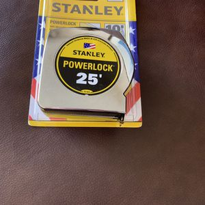 Stanley 25 foot tape measure, model 33-425 - Brand New for Sale in Hollywood, FL