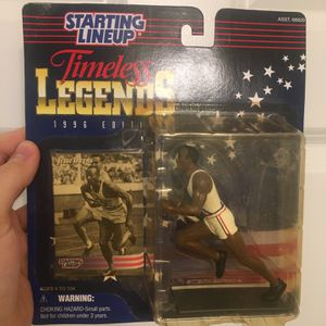 Jesse Owens Timeless Legends VTG Starting Line Up Action Figure. The box itself has some wear and light creasing from age (see pictures) but otherwise for Sale in Atlanta, GA