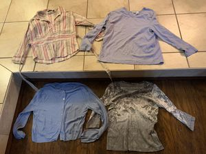 Women's size large long sleeve shirts for Sale in Davenport, FL
