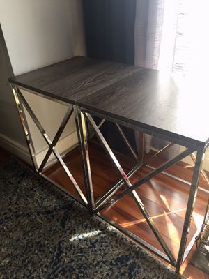 Weathered Gray End Tables for Sale in Washington, DC