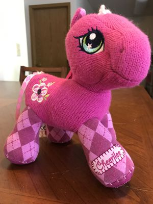 "10"" MY LITTLE PONY PINK CHEERILEE STUFFED ANIMAL PLUSH TOY 2007 HASBRO for Sale in Salt Lake City, UT"