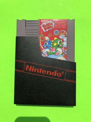 Original Nintendo NES: Bubble Bobble for Sale in Missoula, MT