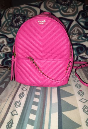 hot pink Victorias Secret mini backpack for Sale in Houston, TX