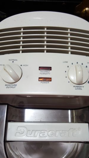 Duracraft Humidifier DONATED for Sale in Everett, WA