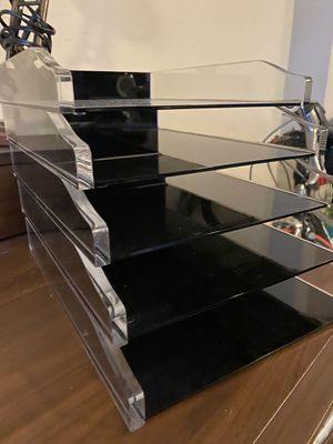 Real space file trays for Sale in Dallas, TX