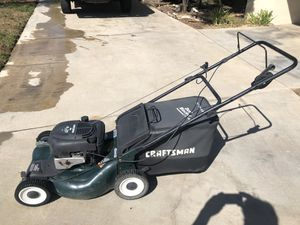 Craftsman Lawn mower (self propelled) for Sale in Redlands, CA