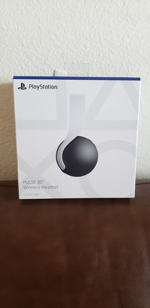 Ps5 Playstation Pulse 3D Wireless headset for Sale in Mesa, AZ