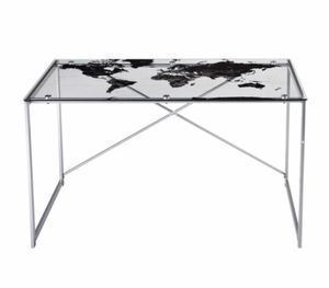 World Tempered Glass Desk for Sale in Homestead, FL