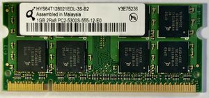 HYS64T128021EDL-3S-B2 1GB DDR2 Memory PC2-5300 DDR2-667 Laptop Ram 240-Pins for Sale in OH, US