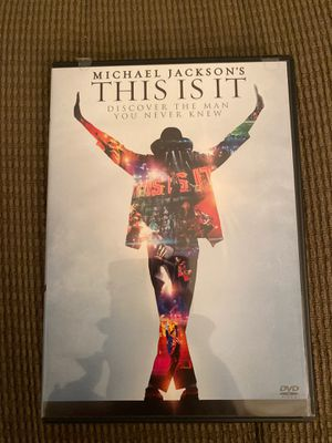 Michael Jackson's This is It for Sale in Midlothian, VA