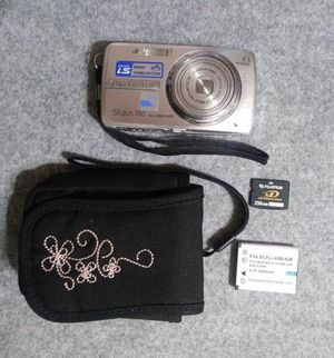 Olympus 7.1MP Digital P&S Camera Silver with Case for Sale in Apopka, FL