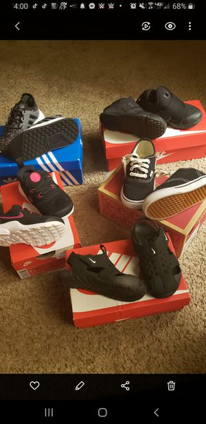 Nike Vans and Adidas size 7c..All in NEW CONDITION for Sale in San Antonio, TX