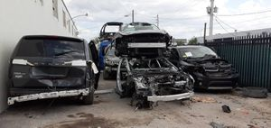 Parts parting out Nissan maxima acura mdx murano ford transit 150 250 promaster 1500 2500 tesla s 3 Mercedes gl450 engine transmission for Sale in Miami, FL