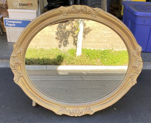 Gold Framed Mirror for Sale in Cypress, CA