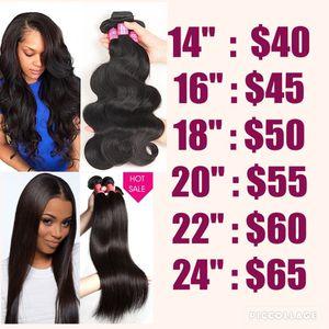 Brazilian Body wave and Straight Hair Bundles for Sale in Atlanta, GA