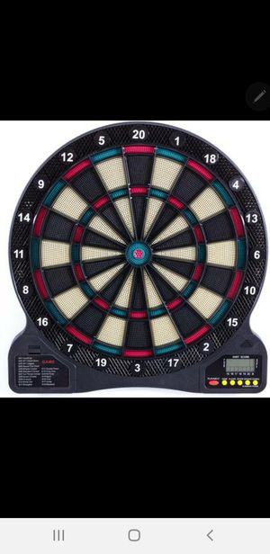 100 Electronic Dartboard with stand for inside or outside use for Sale in Los Angeles, CA