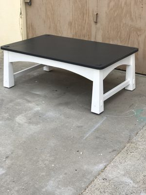 Coffee table (farmhouse style) delivery available for Sale in Los Alamitos, CA