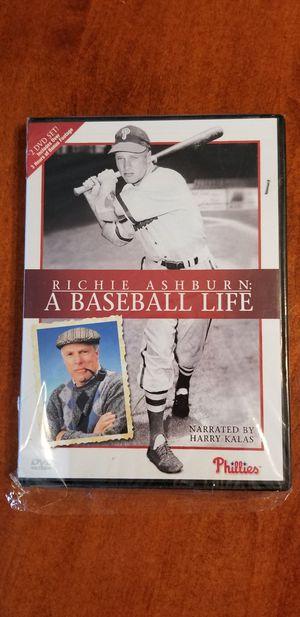 Rich Ashburn, A Baseball Life DVD set for Sale in Langhorne, PA