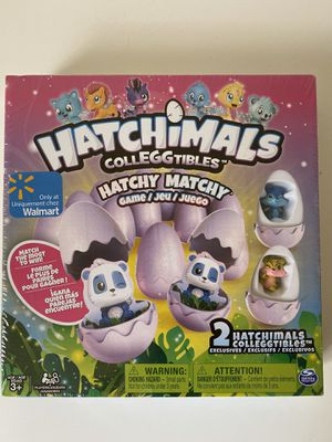 Hatchimals Colleggtibles Hatchy Matchy Game Kids for Sale in Virginia Beach, VA